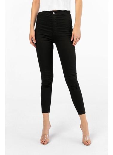 Tiffany&Tomato Yüksek Bel Skinny Pantolon Siyah